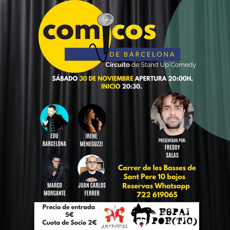 Cómicos de Barcelona 30-11-2019