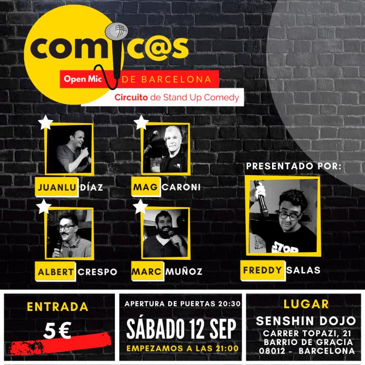 Comicos de Barcelona 12-09-20