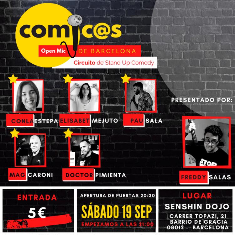 Comicos de Barcelona 19-09-20