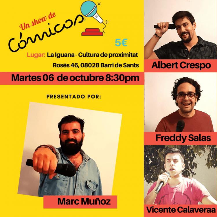 Un show de Cómicos Freddy Salas