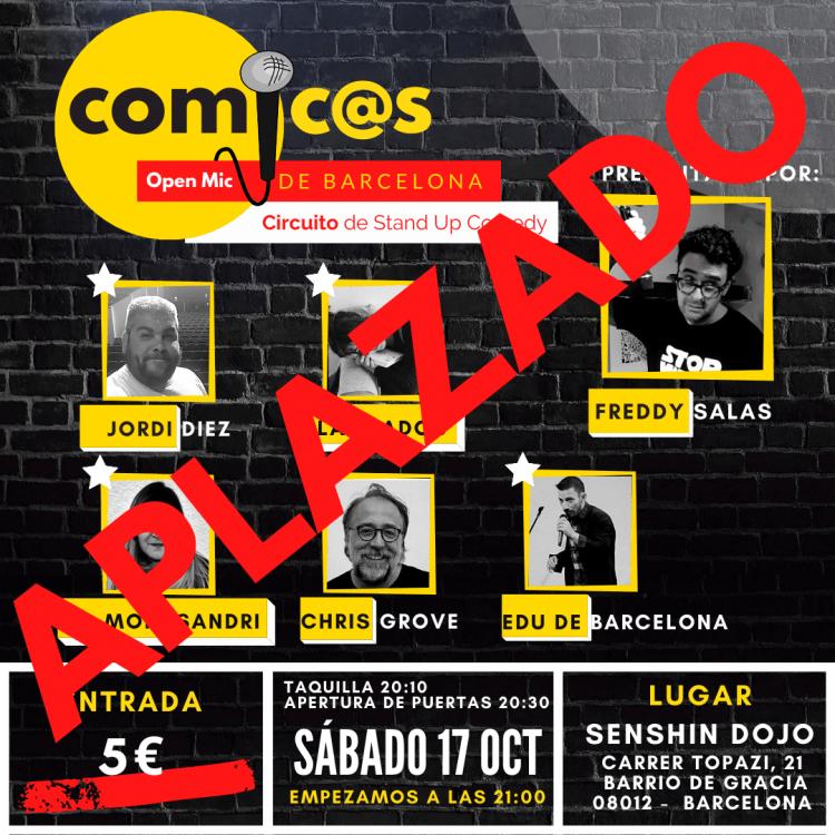 Cómicos de Barcelona 17/10/20