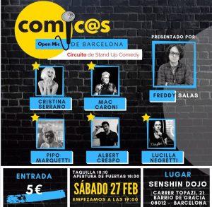 Cómicos de Barcelona 27-02-21