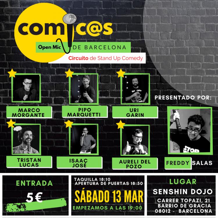 Cómicos de Barcelona 13-03-21