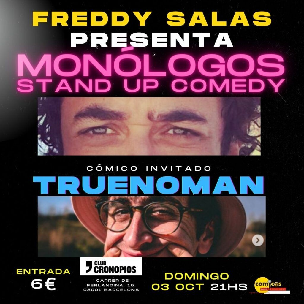 Freddy Salas Presenta Truenoman 03-10-21